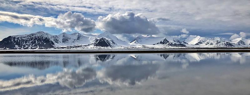 Paisaje de Poolepynten (Svalbard)