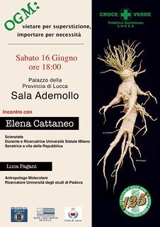 Elena Cattaneo a Lucca