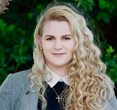 Lianna Connor, representing the Canterbury Irish Society