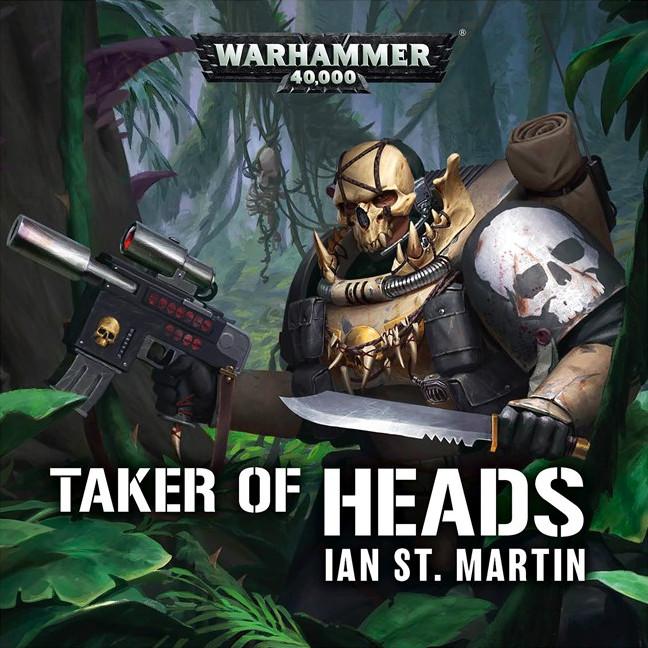 «Головорез» Йена Ст. Мартина | Taker of Heads by Ian St Martin