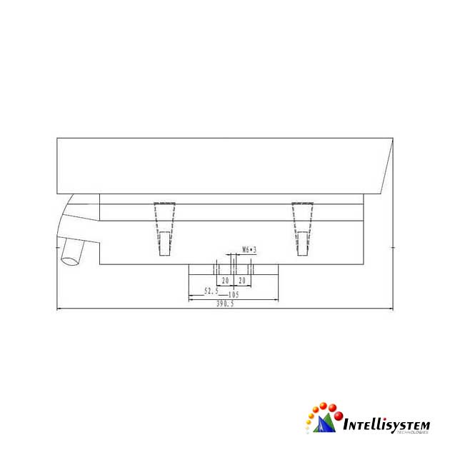 It Ssd6 Ir Mechanical Drawing 2 Quot With 4 High Power Leds