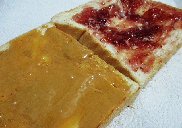 Peanut butter and jam