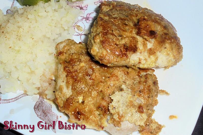 Photo: Close up of pork chops.