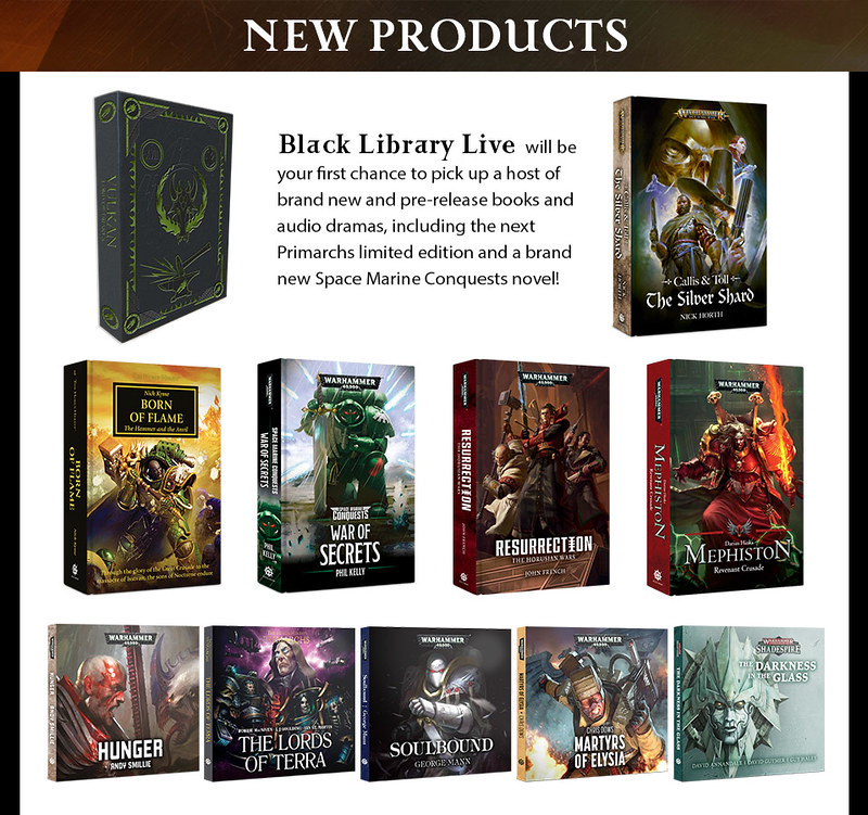 Black Library Live! 2018