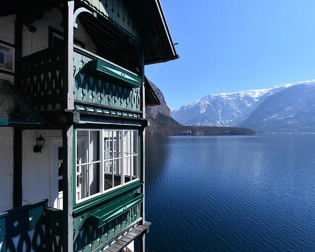 Casita junto al lago Hallstätter