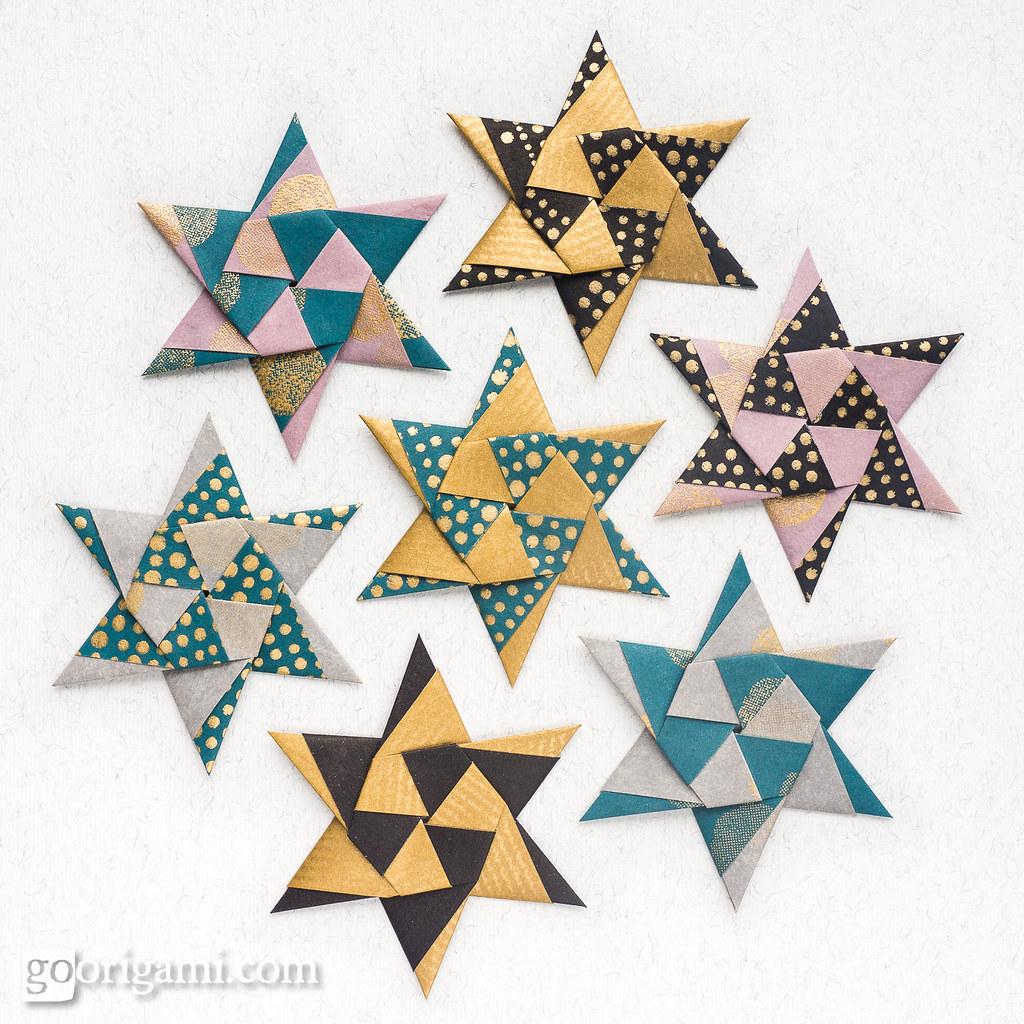 Modular Origami Stars   Modular Origami Stars (Maria ... - photo#29