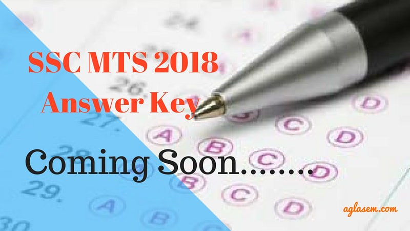 SSC MTS 2018 Answer Key   Download Here