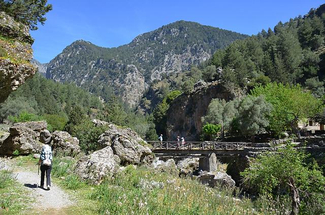 Samaria route, Crete