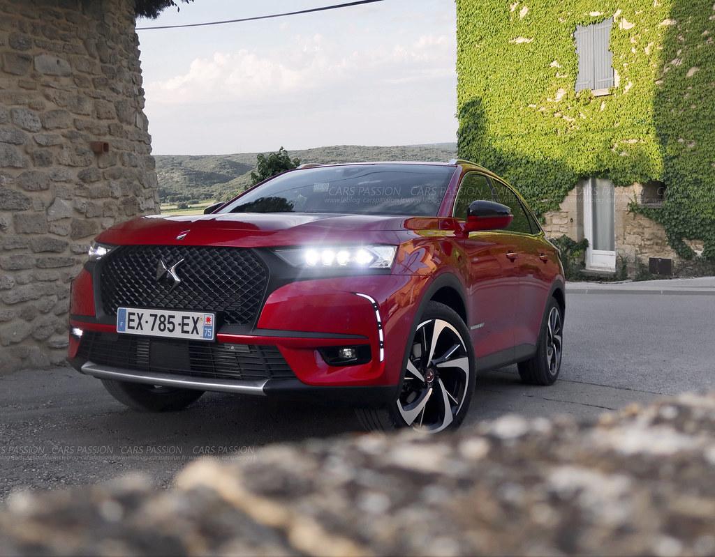 essai test drive ds7 crossback rouge absolu cars passion blog auto flickr. Black Bedroom Furniture Sets. Home Design Ideas