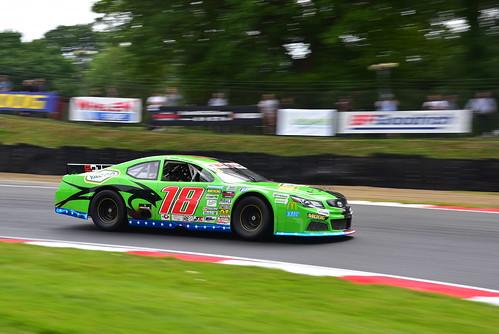 Bobby Labonte, Nascar Whelen Euro Series, American SpeedFest VI, Brands Hatch 2018