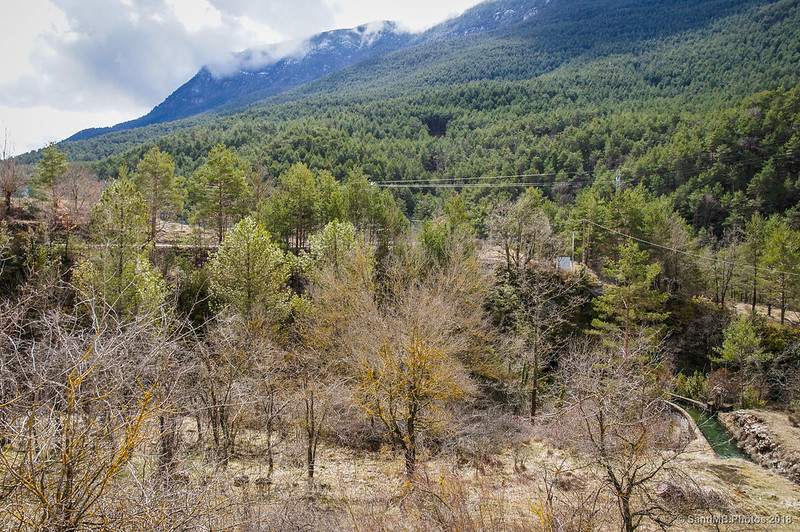 Valle del Bastareny desde Cal Cerdanyola