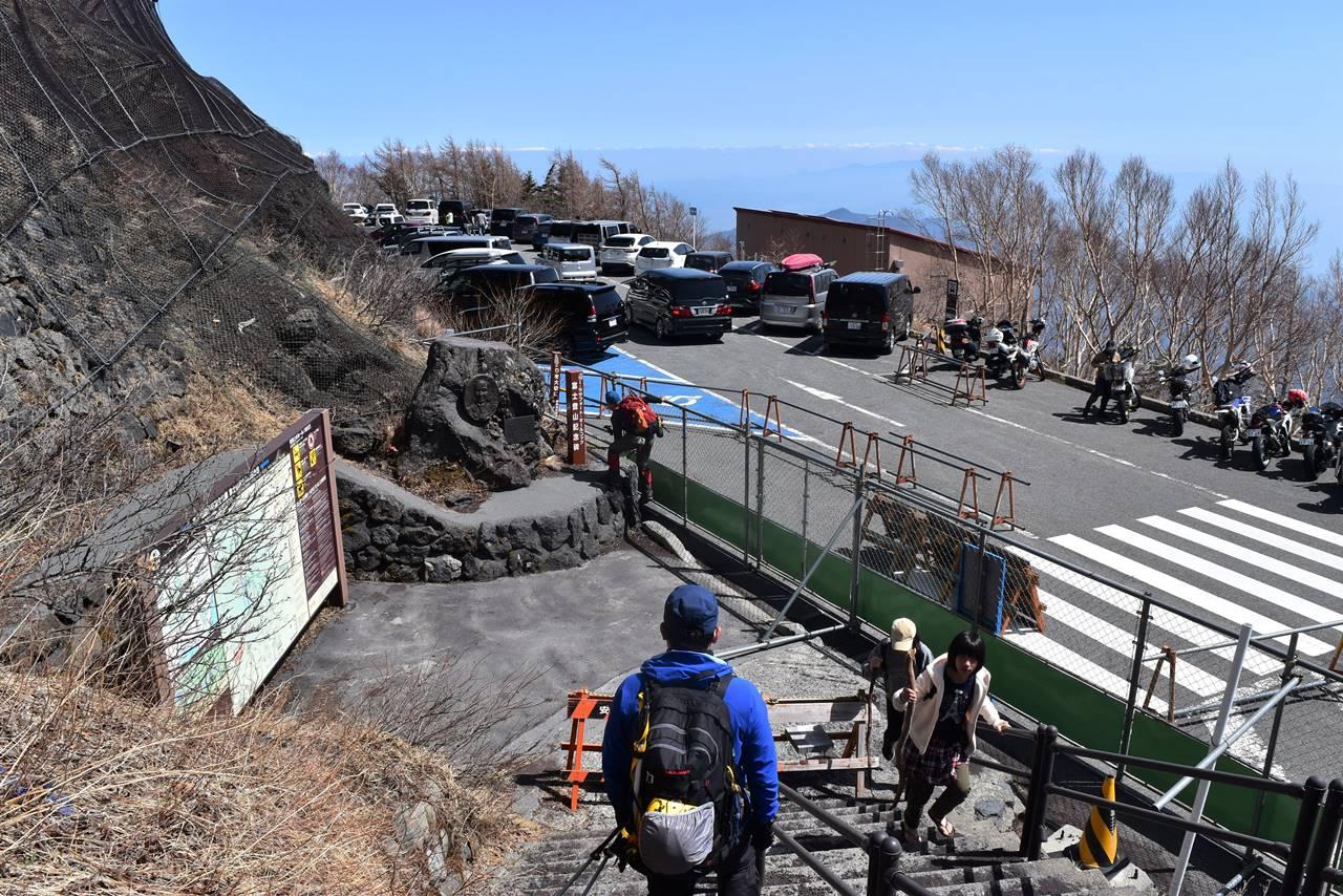 富士山・富士宮コース五合目登山口