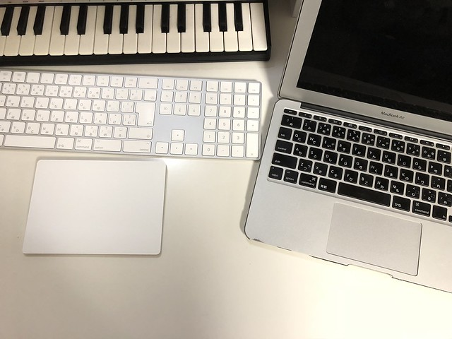 iMacとMacBook Air