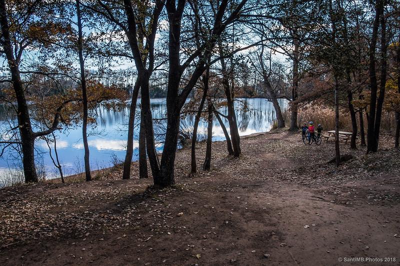 Zona de picnic en el lago de Graugés