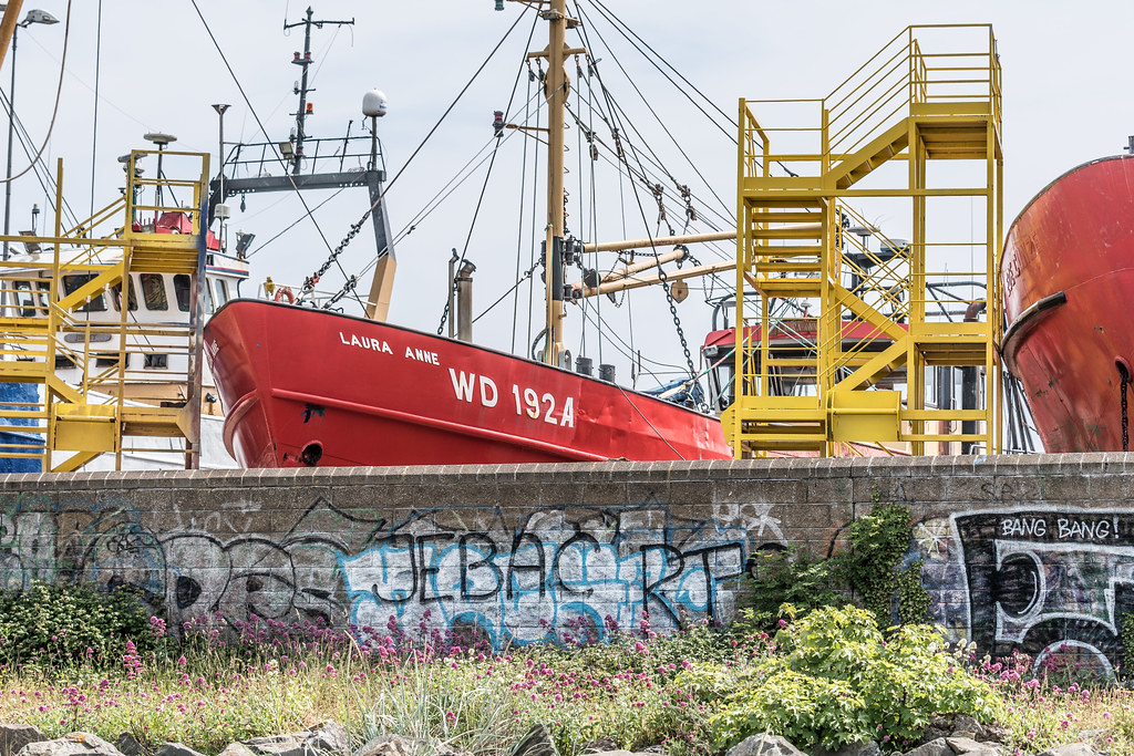 AN ACTIVE BOATYARD IN HOWTH 004