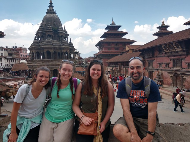 Auburn students study abroad in Nepal