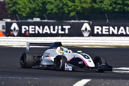 Logan Sargeant, Formula Renault Eurocup, Silverstone 2018