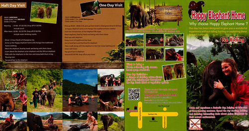 Happy Elephant Home Chiang Mai Thailand Brochure