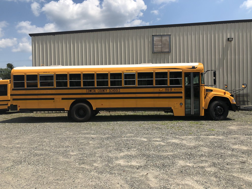 Coweta County School System Ga 2019 Blue Bird Vision Flickr