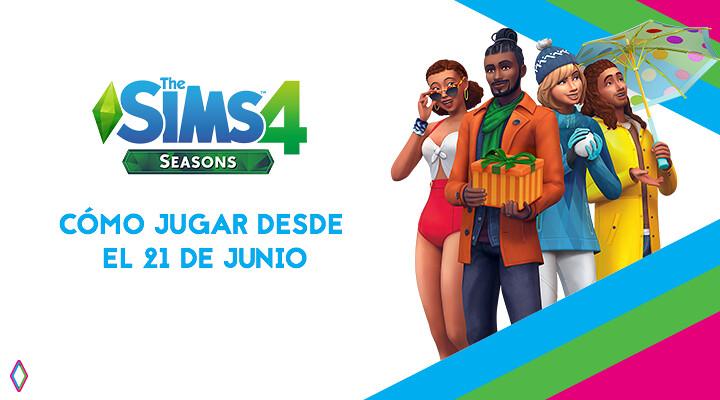 Los Sims 4 y Las Cuatro Estaciones: cómo jugar a partir del 21 de junio