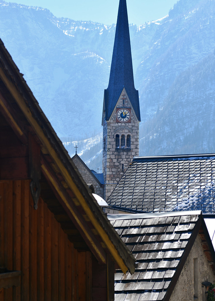 La famosa Kirche Hallstatt