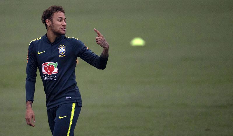 Neymar的健康狀況仍成焦點。(資料照,AFP授權)