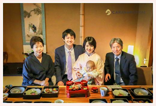 櫓心祜(ろここ)でお食い初め(名古屋市天白区) | 家族写真カメラマンが撮る自然な赤ちゃんの表情