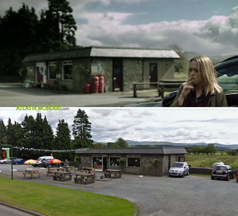 Craith petrol station location