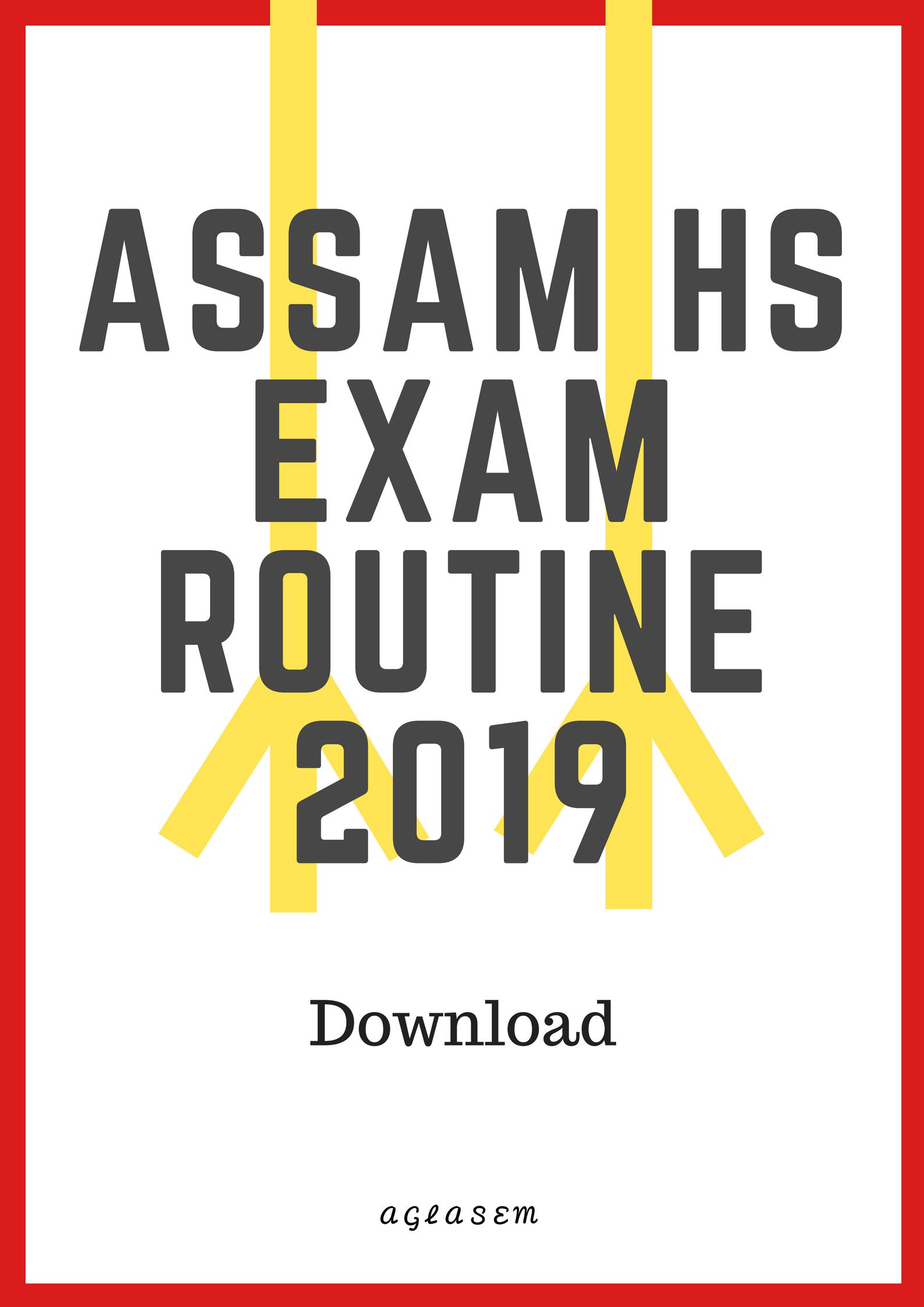 Hs final year routine 2019