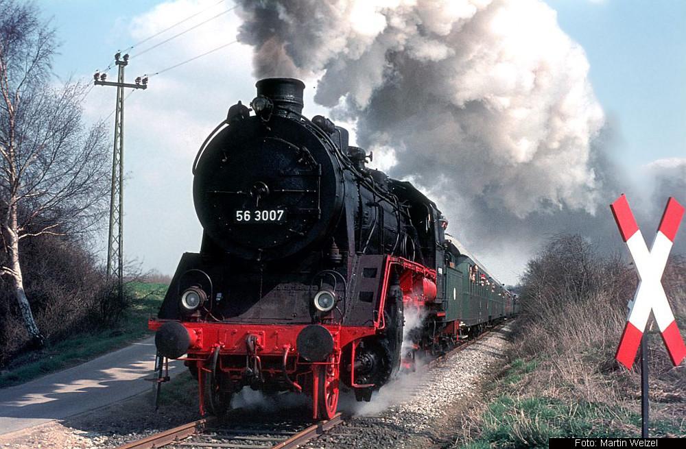 56 3007, Jülicher Kreisbahn, 03.04.1976