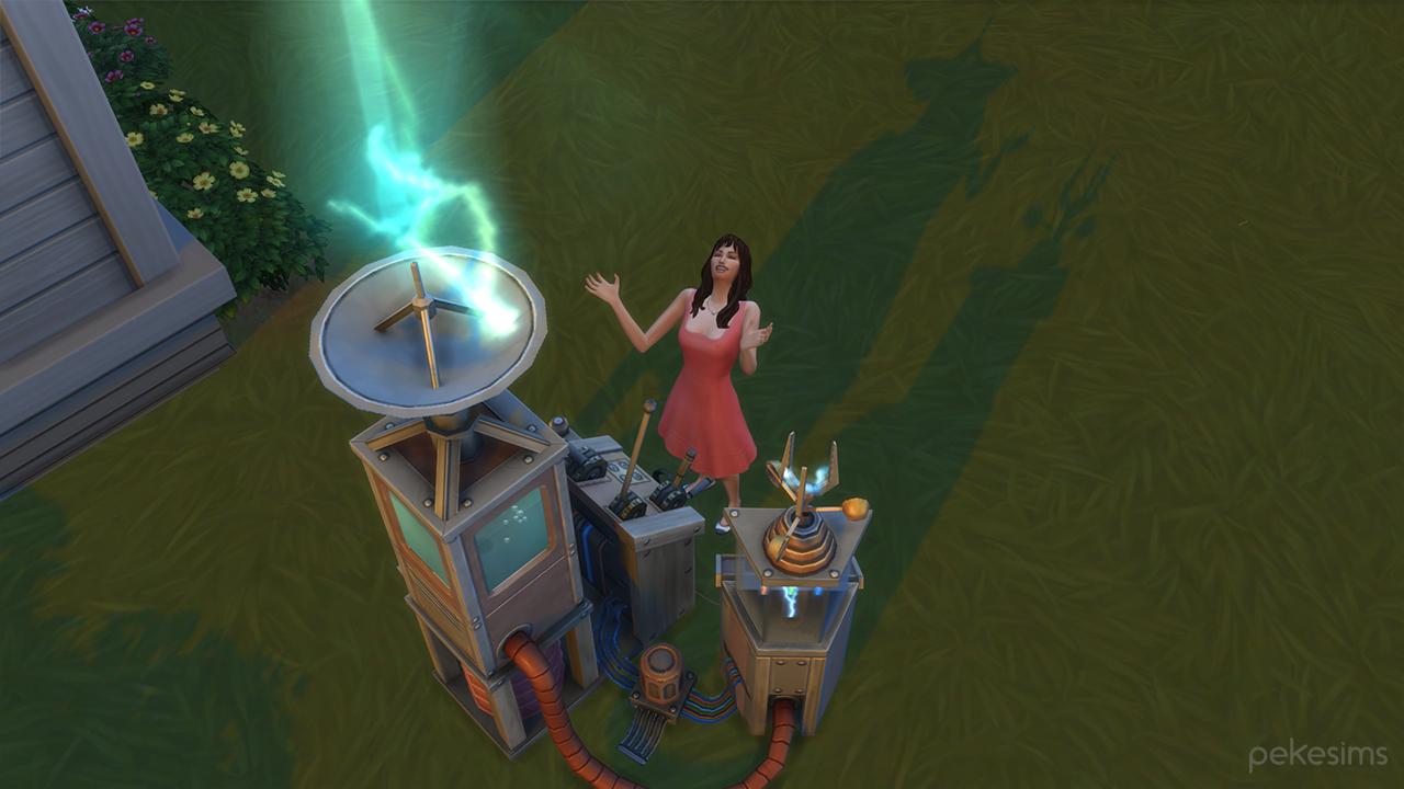Cambiar el clima en Los Sims 4