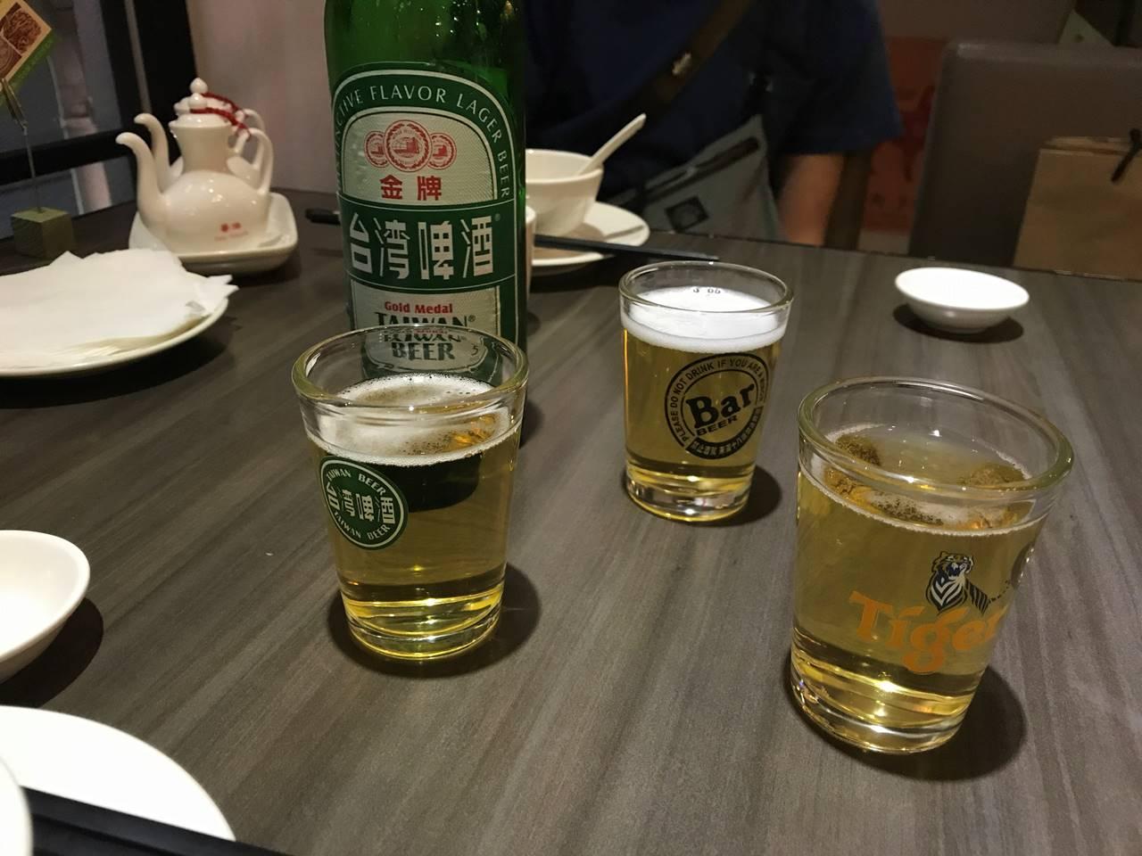 台湾・台北 高記 ビール