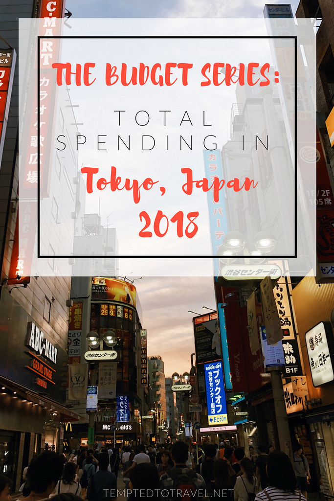 The Budget Series: Total Spending in Tokyo, Japan 2018