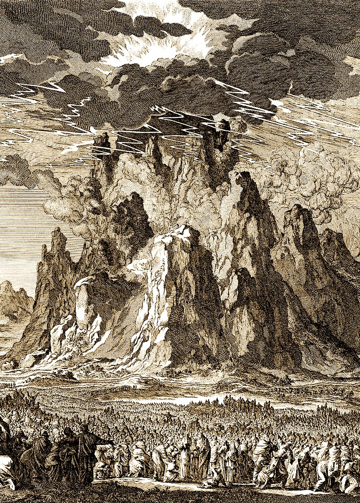 Величие Божией на горе Синай.