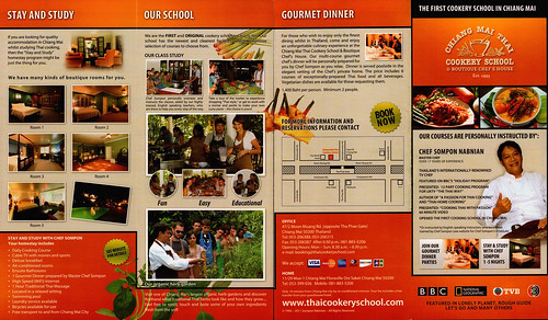 Brochure Chiang Mai Thai Cookery School 1