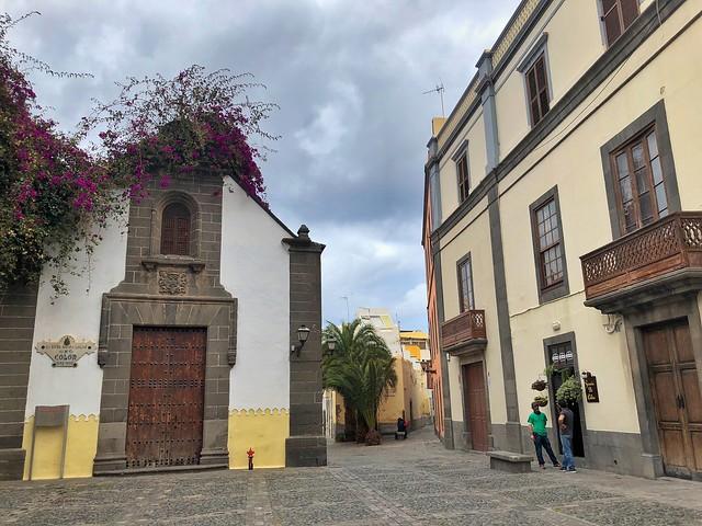 Ermita de San Antonio en el barrio de Vegueta (Las Palmas de Gran Canaria)