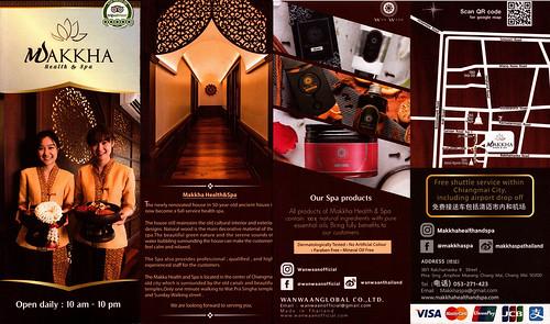 Brochure Makkha Health & Spa Chiang Mai Thailand 1