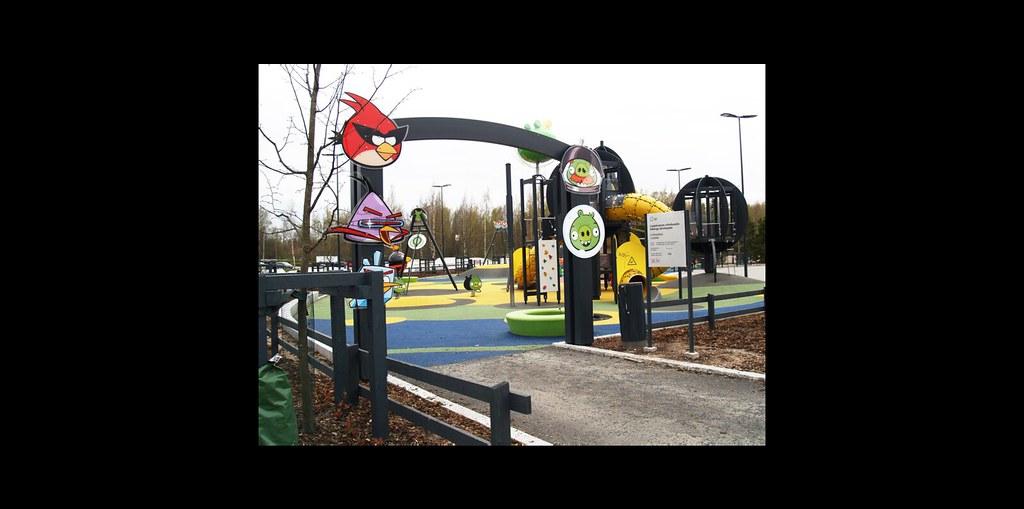 Kuva toimipisteestä: Leppävaaran urheilupuisto / Angry Birds -puisto