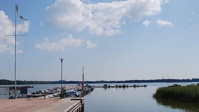 Kuva toimipisteestä: Laajalahden venesatama