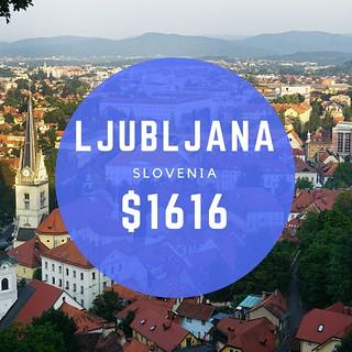 Ljubljana Slovenia $808 wk