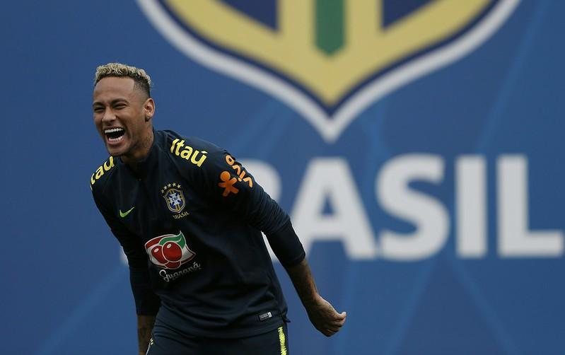 巴西教頭會讓Neymar在場上盡情發揮。(AFP授權)