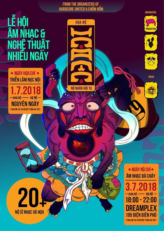 Lễ hội âm nhạc và nghệ thuật: Họa Nộ – Nộ Nhân Hội Tụ