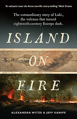 Image shows the cover of Island on Fire