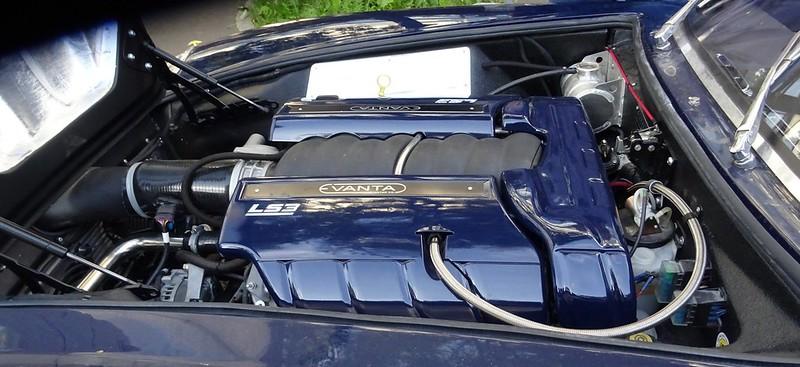 Eventa (Replica Aston DB 4 Zagato) Engine G.M. Corvette LS3 42004793255_dcfb9becb1_c