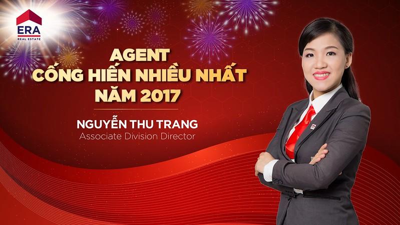 Agent Cống Hiến Nhiều Nhất ERA Năm 2017