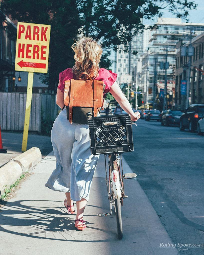 Bike Toronto Park Here