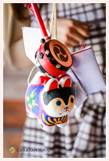 お宮参り 張り子の犬♪塩竈神社(名古屋市天白区)