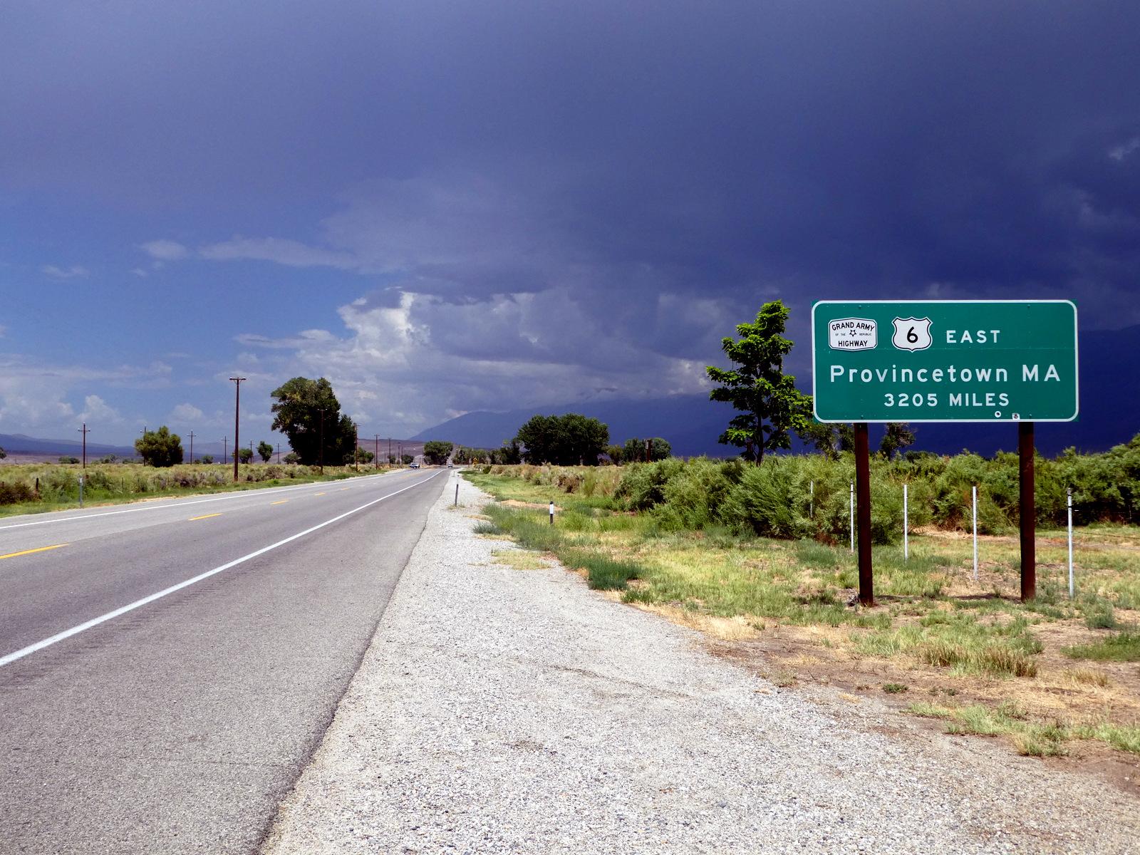 U.S. Route 6 - Bishop, California U.S.A. - July 11, 2018