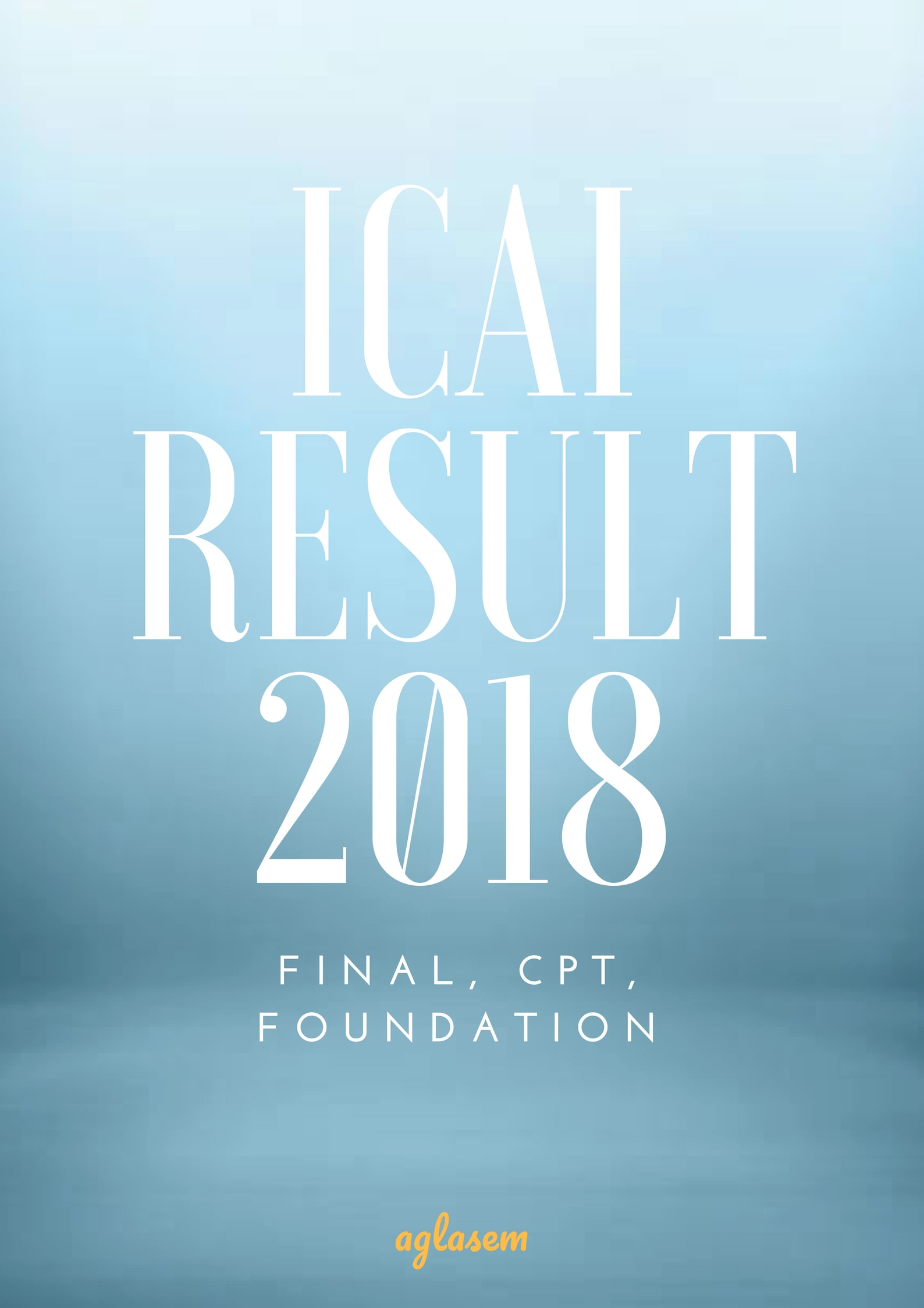 ICAI Result 2018