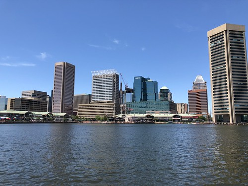 Photo of Baltimore skyline from the water